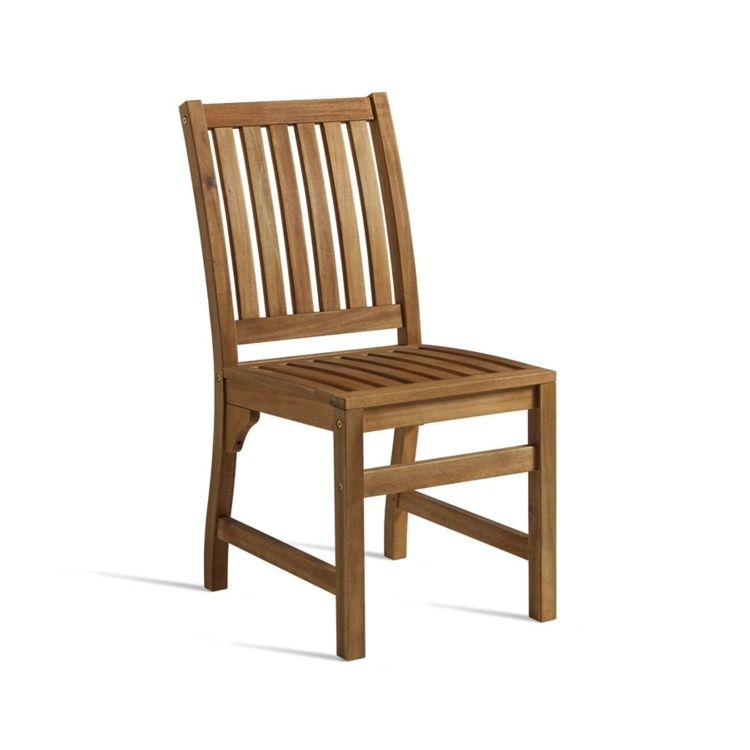 New HARDY Solid Wood Café Canteen Side Chair