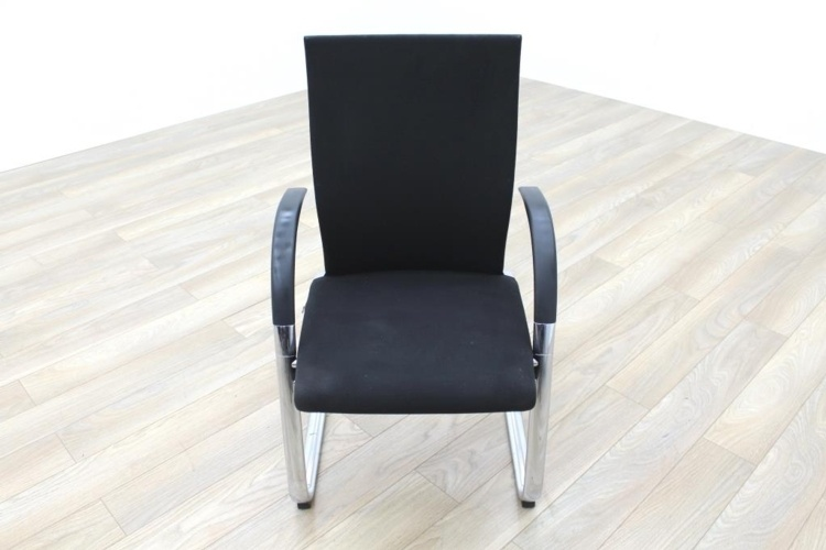 Ahrend Black Fabric High Back Office Meeting Chairs