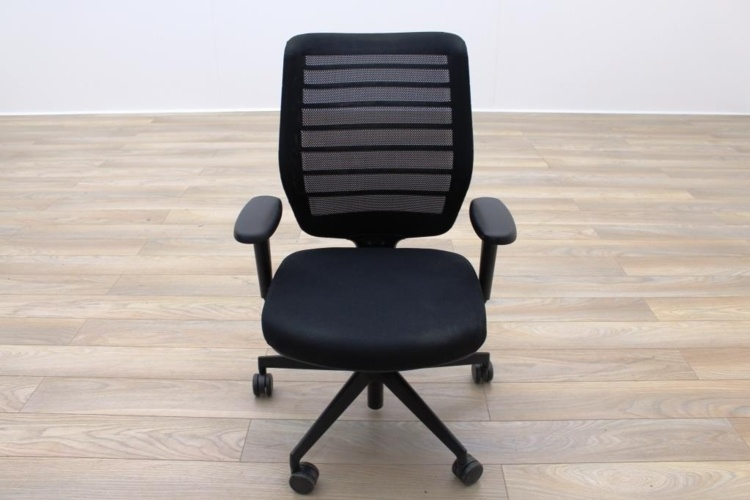 Senator Fuse Black Mesh Multifunction Office Task Chair