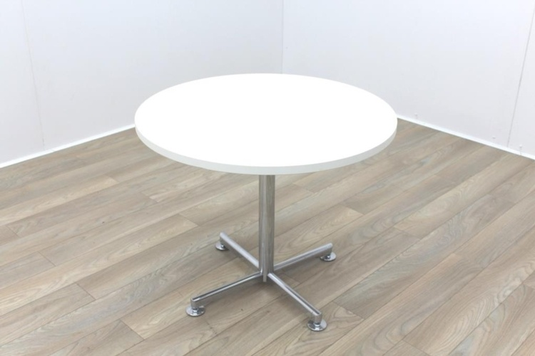 Brunner White Round Table