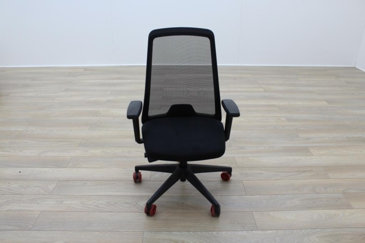 Interstuhl Everyis1 Mesh Black Office Task Chairs