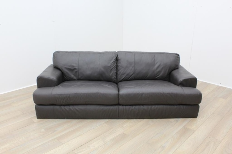 Dark Brown Reception Sofa