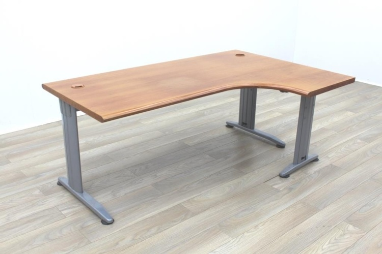 Solid Cherry Executive Office Corner Desk