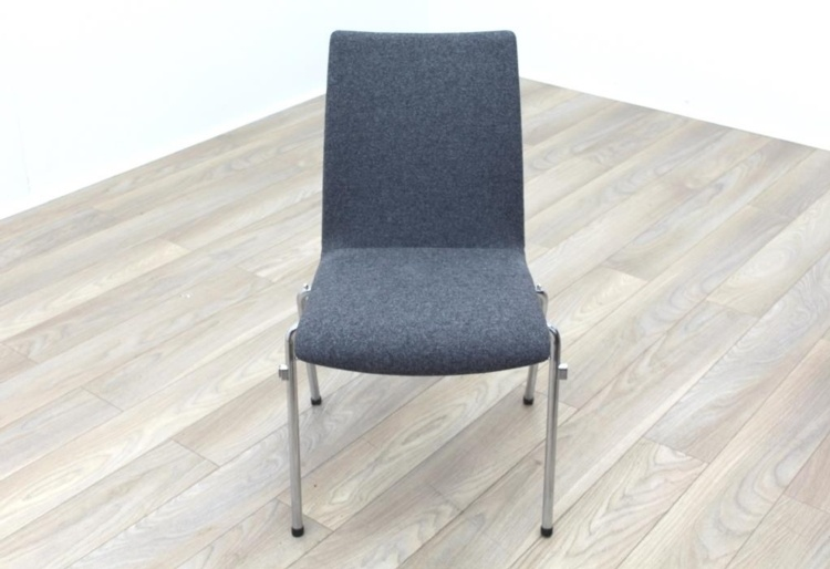 Brunner Light Grey Fabric Meeting Chair