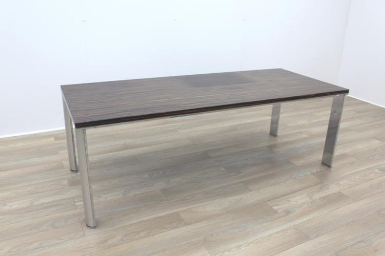 Zebrano Rectangular Office Meeting Table