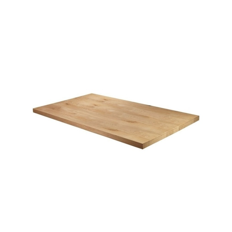 New Unfinished Character Superior Grade Oak 1200mm x 750mm Rectangular Table Top