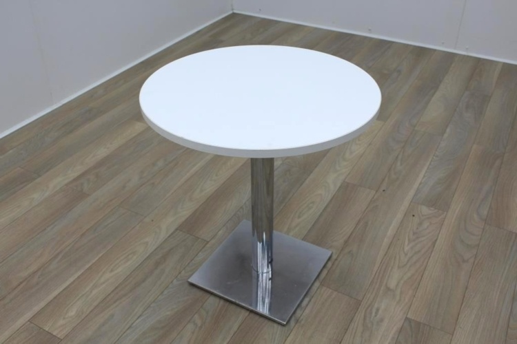 White Round Table 700mm