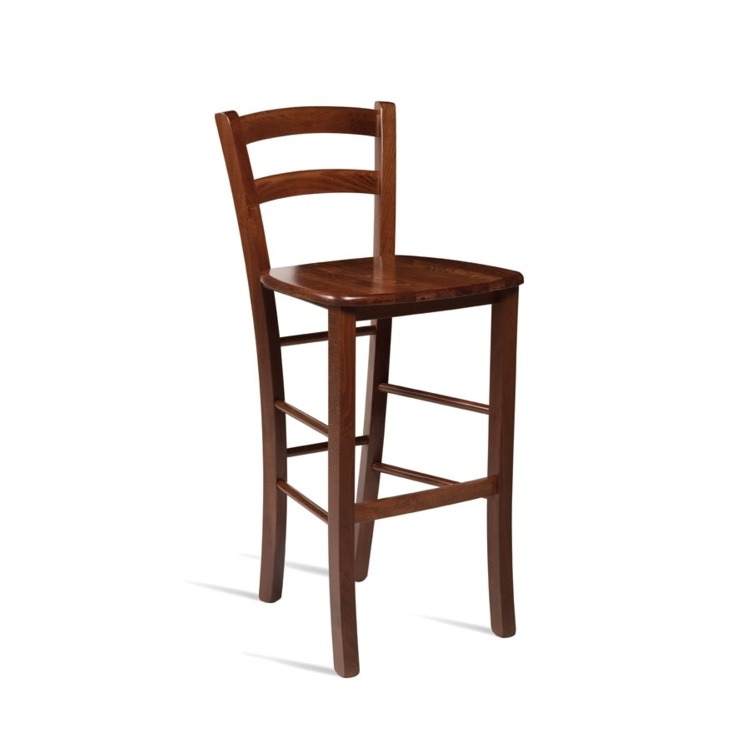 New ROSSO Light Walnut Bar Stool