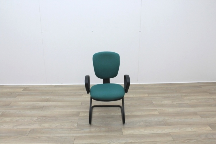 Green Fabric Meeting Chairs