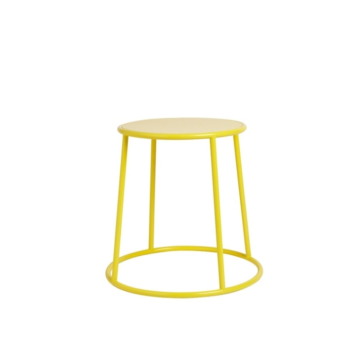 New MAX 45 Yellow Industrial Designer canteen café Low Stool