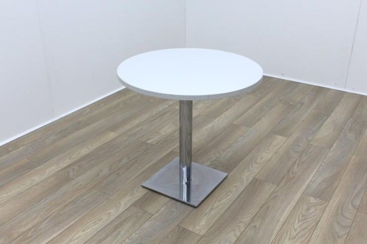 Grey Round Table 800mm