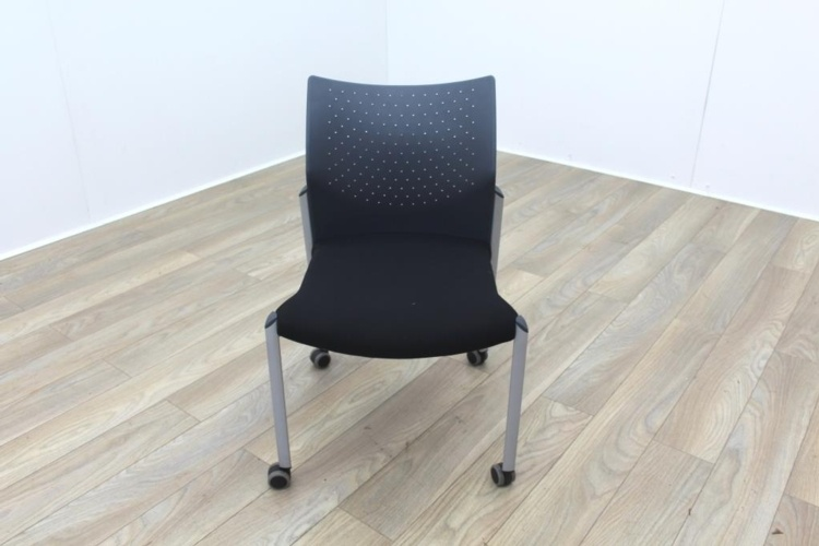 Senator Black Fabric Meeting Chair