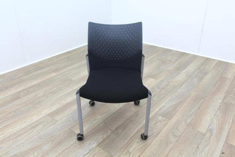 Senator Black Fabric Meeting Chair