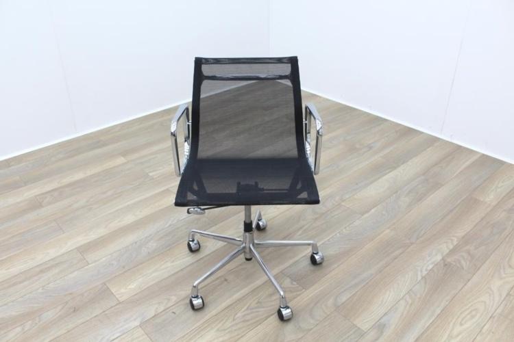 Eames Style Black Mesh Operator Chair