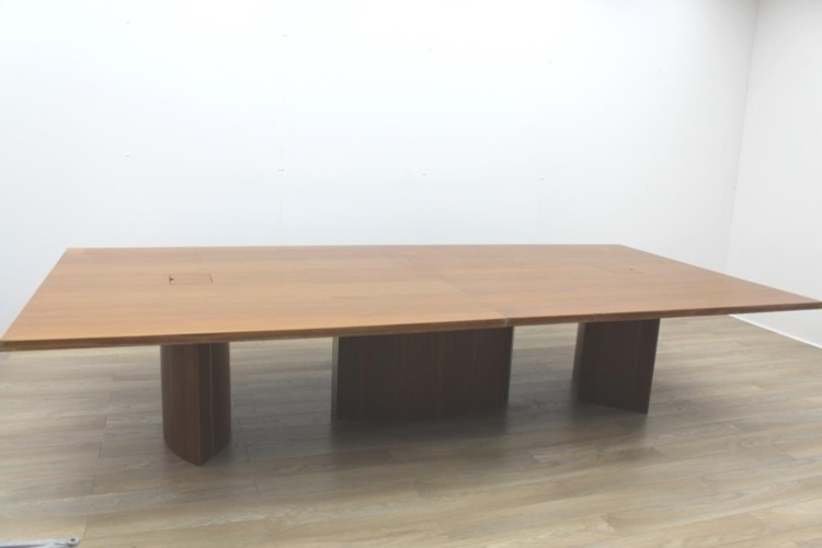 Walnut Rectangular Office Meeting Table