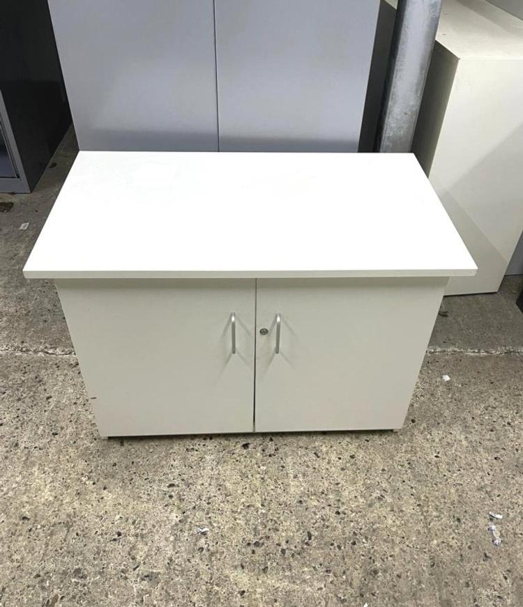 Double Door White Cupboard