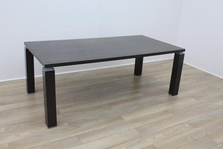 Wenge Rectangular Meeting Table 2000mm