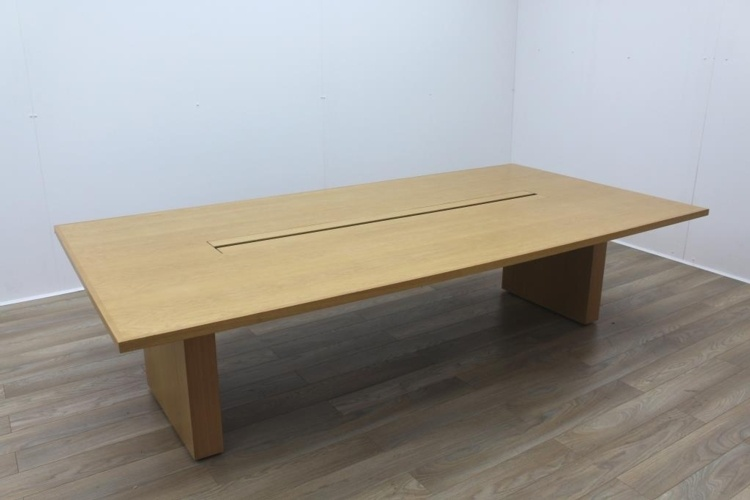 Sven Christiansen Solid Oak Office Meeting Table