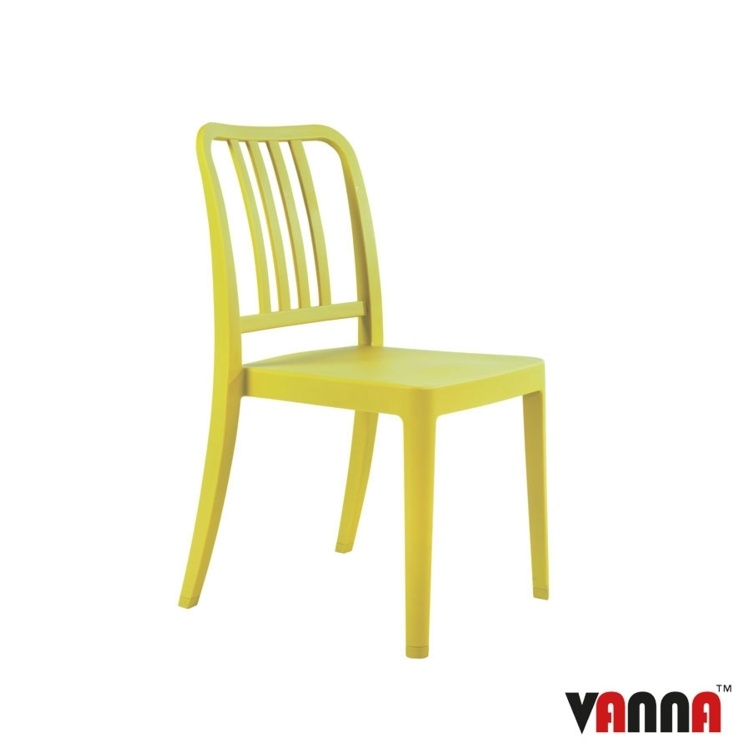 New Green Reinforced Polypropylene Stacking Office Canteen Cafe Bistro Meeting Chairs