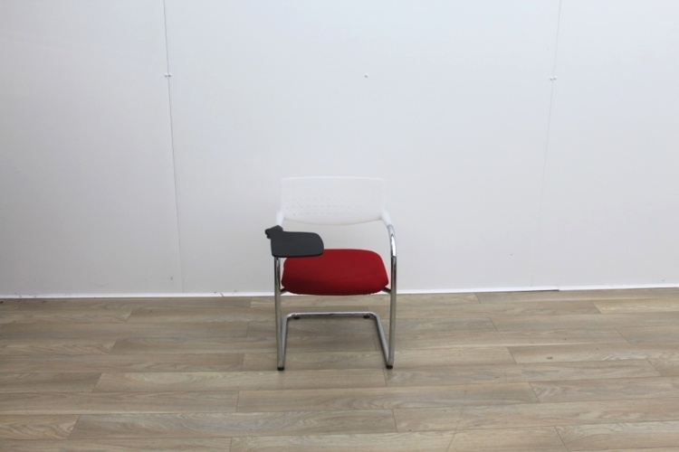 Used Vitra Visavis Cantilever Meeting Chairs With Writing Tablet
