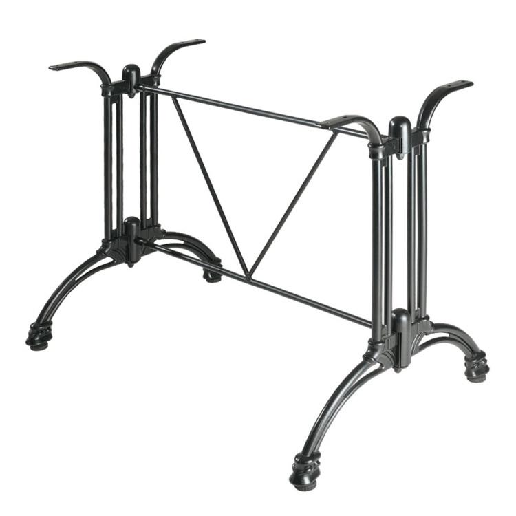 New JACK Black Aluminum Rectangular table base