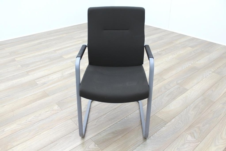 Connection Charcoal Fabric Office Meeting Chairs