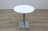 White Round Table 700mm - Thumb 4