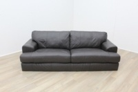 Dark Brown Reception Sofa - Thumb 2