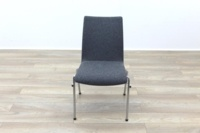 Brunner Light Grey Fabric Meeting Chair - Thumb 4