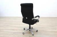 President High Back Black Fabric Executive Office Task Chair - Thumb 6