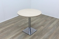 Oak Round Table 800mm - Thumb 2