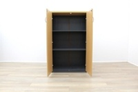 Oak Double Door with Grey Sides - Thumb 4