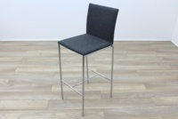 Brunner Grey Fabric Stool - Thumb 3