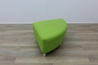 Boss Green Leather Reception Soft Chair - Thumb 4