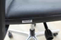 Interstuhl Black Leather Operator Chair - Thumb 8