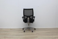 Sitland Operator Chair With Chrome Back And Chrome Legs - Thumb 4