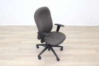 Verco Brown Fabric Operator Chair - Thumb 5