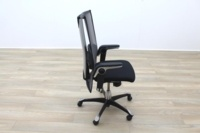 HAG H09 Inspiration Black Fabric Executive Office Task Chair - Thumb 6