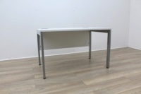 White 1200mm Straight Office Desks - Thumb 4