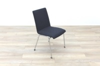 Brunner Dark Grey Fabric Meeting Chair - Thumb 5