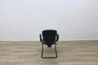 Green Fabric Meeting Chairs - Thumb 5
