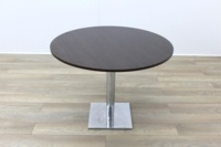 Dark Walnut Round Table 1000mm - Thumb 3