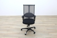HAG H09 Inspiration Black Fabric Executive Office Task Chair - Thumb 5