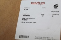 Kusch Co Yellow / Grey Stackable Canteen Office Chairs - Thumb 7