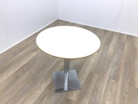 Cream Round Table 800mm - Thumb 2