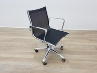Eames Style Black Mesh Meeting Chairs - Thumb 5