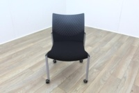 Senator Black Fabric Meeting Chair - Thumb 2