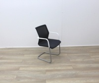 Orangebox Meeting Chair With Black Fabric - Thumb 2