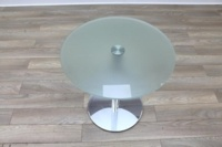 Brunner Glass Round Coffee Table - Thumb 4