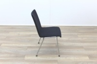 Brunner Dark Grey Fabric Meeting Chair - Thumb 6